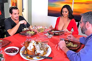 Mom's Christmas Stuffing Brazzers Network