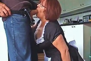 Velmadoo The French Maid Gagging On Cock Part 1 Porn 00